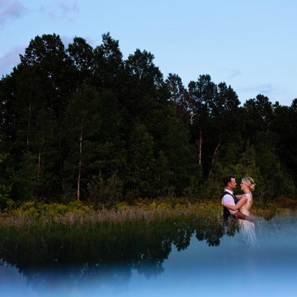Shauna & Trevor - Elegant Rural Ontario Backyard Wedding