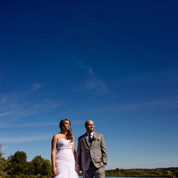 Nick & Chantal's Elegant Cornwall Evening Wedding